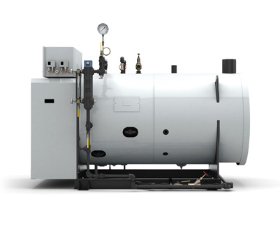 ClearFire Horizontal Steam Boiler • Waterloo Manufacturing • Ontario